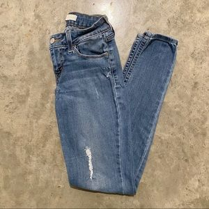 LEVI'S Ripped Skinny Jeans